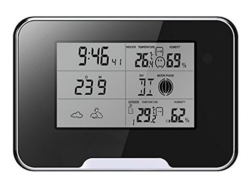 (SpyStreet   MAC-WS1   Hidden Spy Camera Weather Station   HD 1080P   Record to Built-In DVR   4GB SD Card Included   USA Shipper)