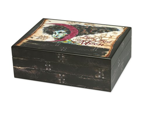 Blood Red Moon Humidor