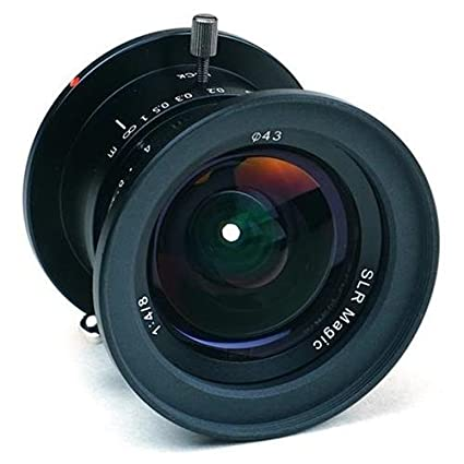 SLR Magic 8mm f/4 0 Ultra Wide Angle Lens for Micro Four Thirds Cameras