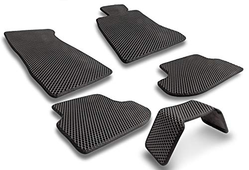 EVA Car Floor Mats - 5 Pieces - New Black Heavy Duty for sale  Delivered anywhere in USA