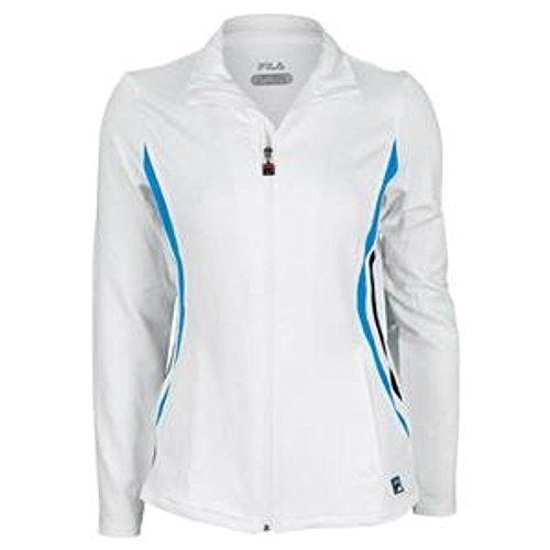 - Fila Tennis Women's Center Court Jacket, Small, White