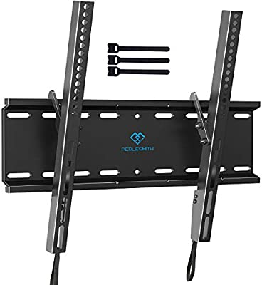 "Curved and Flat Full Motion Articulating TV Wall Mount Bracket for 23-70/"" inch"