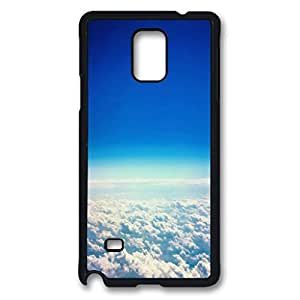 Clouds Protective Hard PC Snap On Case for Samsung Galaxy Note 4 -1122002