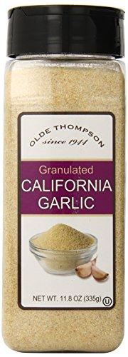 Olde Thompson Garlic (Olde Thompson California Granulated Garlic Bottle, 11.8)