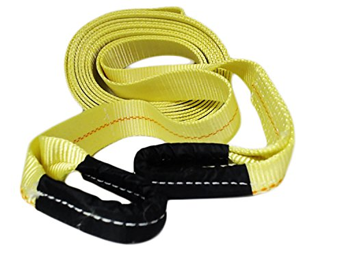 ABN Tow Strap with Reinforced Loops 2