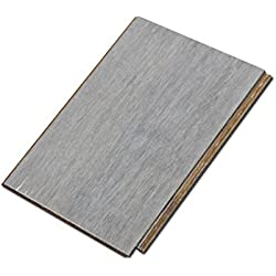 "Cali Bamboo - Solid Wide Click Bamboo Flooring, Vintage Moonlight Gray - Sample Size 8"" L x 5 1/8"" W x 9/16"" H"