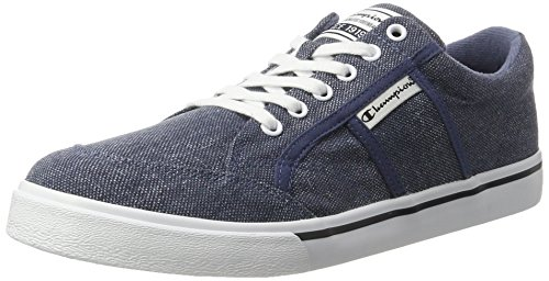 Champion Placardwashed, Sneakers Basses Homme Bleu (Nny - Vintage Royalblau)