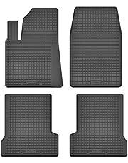 KO-RUBBERMAT rubberen matten vloermatten 1,5 cm rand geschikt voor Mazda 2 (I) bj. 2003-2007 ideaal aangepast 4-delig een set