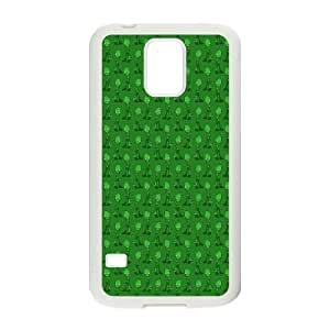 Samsung Galaxy S5 Cell Phone Case White Zombie O8T3HS