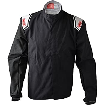 RaceQuip 121006 121 Series X-Large Black SFI 3.2A//1 Multi-Layer Driving Jacket