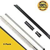 Dryer Vent Cleaning Kits (5 Pack), Crevice cleaner tool, 24 Inch Vacuum Hose