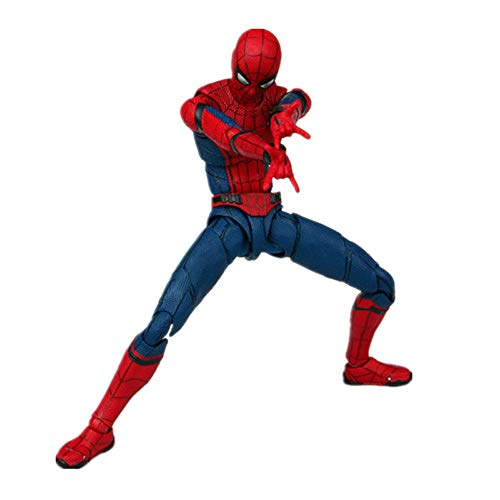 (Aidriney Model- Spider Man Homecoming The Spiderman PVC Action Figure Collectible Model Toy 15cm)