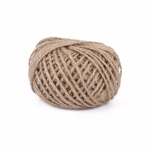 Autumn Water 50Y Natural Sisal Rope Wedding Decoration Rustic Wrap Gift Packing String Party Decoration -
