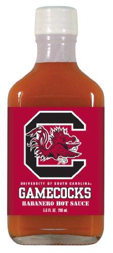12 Pack SOUTH CAROLINA Gamecocks Hot Sauce 6.6oz Habenero Flask