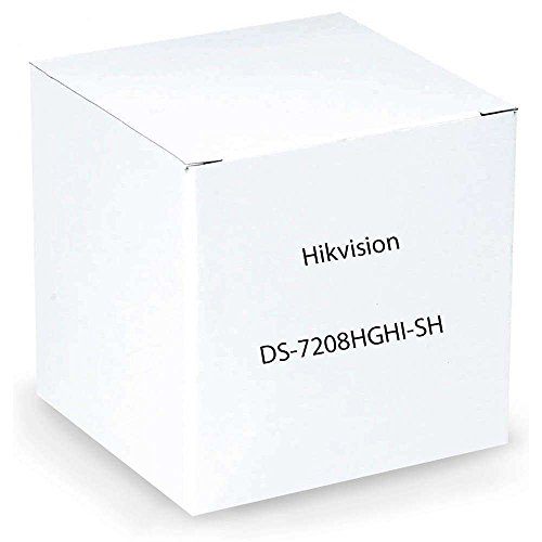 Hikvision Digital Video Recorder DS-7208HGHI-SH Tribrid DVR 8 Channel HD/ANA/IP 2SATA 0HDD Retail