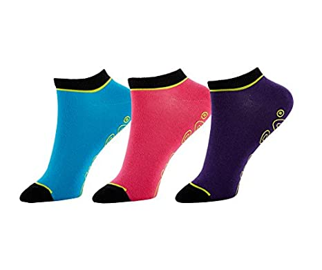 Zumba Pack x 3 Calcetines Ankle Multicolor Única: Amazon.es: Deportes y aire libre