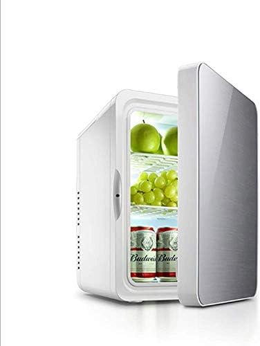 旅行のための車の冷蔵庫22リットルダブルハートミニポータブル冷凍庫ホームデュアル目的電圧