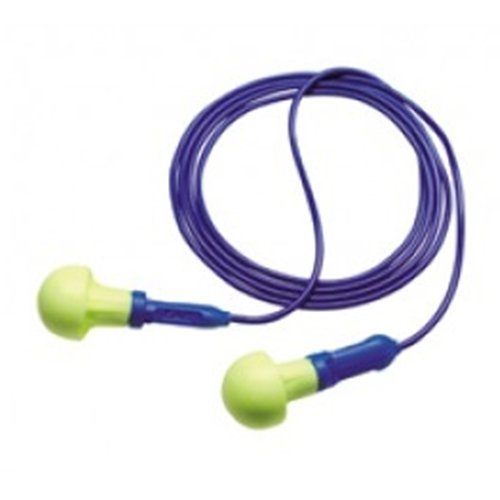 3M E-A-R Push-Ins Corded Earplugs, Hearing Conservation 3...