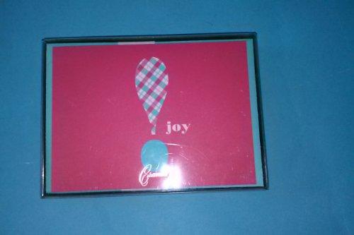 Crane & Co Joy Exclamation HN1556A 10 Notes 10 Envelopes 3 15/16'' x 5 9/16'' 100% Cotton Paper Parchment Satin Finish by Crane & Co.