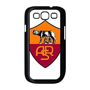 Samsung Galaxy S3 9300 Cell Phone Case Black As Roma Logo ISJ Plastic Personalized Cell Phone Case