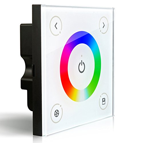 ledenetr-d3-wall-mounted-touch-panel-rgb-controller-for-3528-5050-multi-color-led-strip-lighting-12-