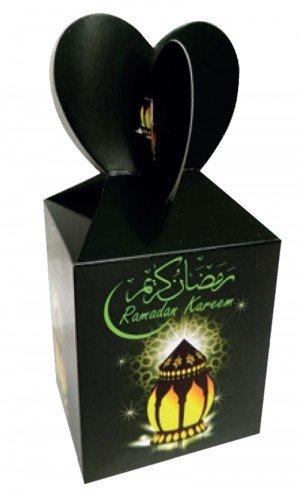 RAMADAN KAREEM LANTERN THEME GIFT FAVOR BOXES (6 PACK) FOR RAMADAN GIFT TO MUSLIM KIDS ISLAMIC FESTIVAL