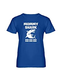Indica Plateau Womens Mommy Shark T-Shirt