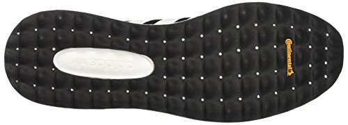 adidas Los Angeles, Unisex Adulto Scarpe da Corsa Nero/Bianco