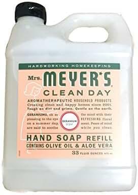 Mrs. Meyer'S Hand Soap Liq Refl Geranm 33 Fz