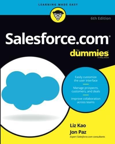 Salesforce Com For Dummies  For Dummies  Computer Tech
