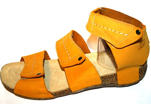 Loints of Holland - Sandalias Romanas Mujer Amarillo - Gelb (gelb 396)