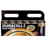 Duracell Plus Alkaline C Batteries 6 Pack LR14/MN1400