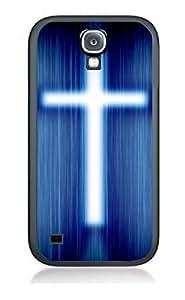 Case Cover Design Christian Gifts CH5 for Samsung S4 mini Border Rubber Pvc Case Black@pattayamart