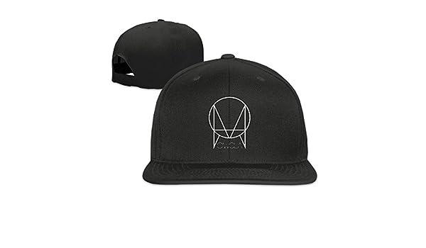 154cdaede12 CieMoAs Owsla Logo Unisex Adjustable Flat Visor Hat Baseball Cap Black   Amazon.ca  Clothing   Accessories