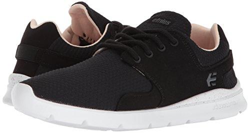 Femme Chaussures Etnies Rose Scout Noir Blanc Sneakers w0qqSR8T