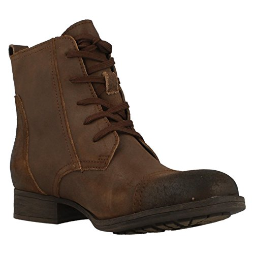 mujer Clarks para Up Ankle marrón Lace Mimic Jazz Botas zrtRxq1tw