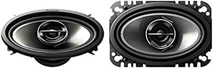 "PIONEER TS-G4645R 4/"" x 6/"" G-Series 2-Way Speaker with 200 Watts Max Power"