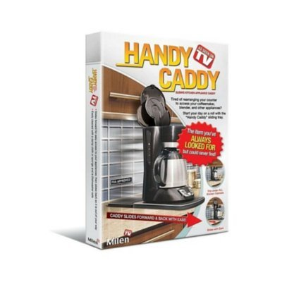Handy Caddy Sliding Kitchen Under Cabinet Appliance Moving Caddy