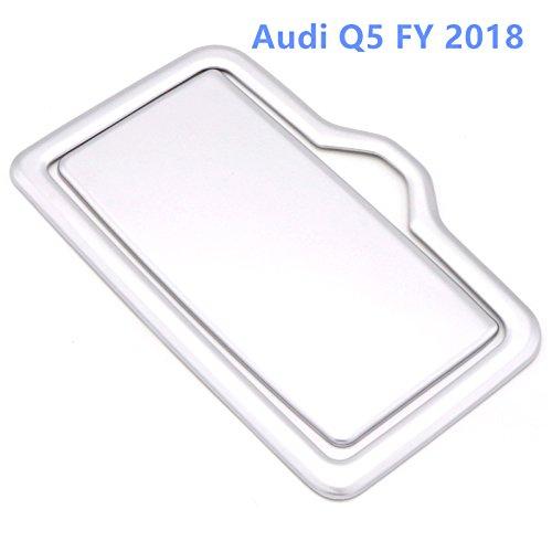 HIGH FLYING f/ür AD Q5 FY 2018 Interieur Vordere A//C Interieurleisten 2 St/ück ABS Kunststoff Silver Matte