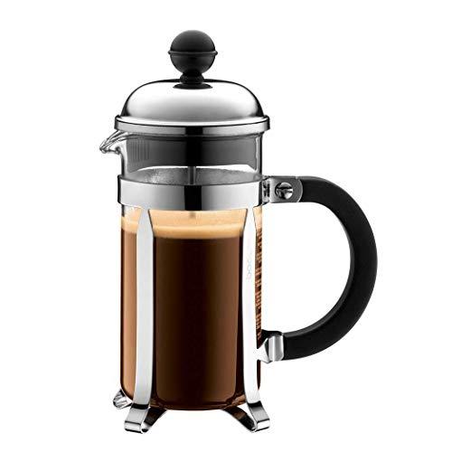 Bodum Chambord French Press 3 Cups 0.35 L Cafetera émbolo, Vidrio, plástico, Acero, Centimeters
