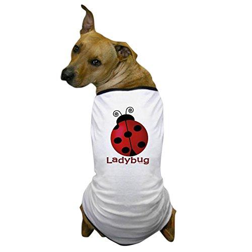 CafePress - Cute Ladybug Dog T-Shirt - Dog T-Shirt, Pet Clothing, Funny Dog Costume