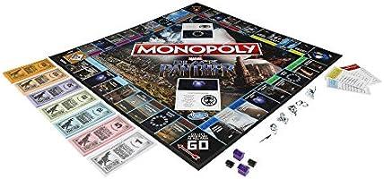 Monopoly Black Panther: Amazon.es: Juguetes y juegos