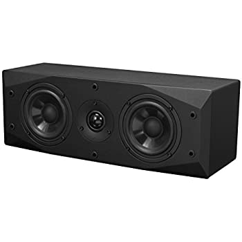 Emotiva Audio Surround LCR Speaker Center Channel Home Speaker Set of 1 black (BasX LCR)