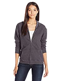 Hanes Womens Full-Zip Hooded Jacket Warm Up or Track Jacket