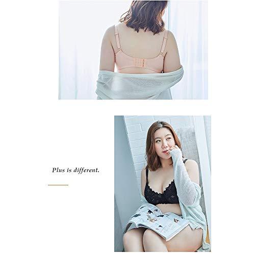 sottile Fat Kg Mm200 Pink Chest colore Donna Large Wsgzh Ricevere Underwear L'anti Show Dimensioni Big 95b Bra Per Small rilassamento Ultra Reggiseno wIqnEFWFxO