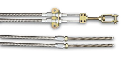 Lokar EC-80FHT Stainless Steel Universal Emergency Brake Cable
