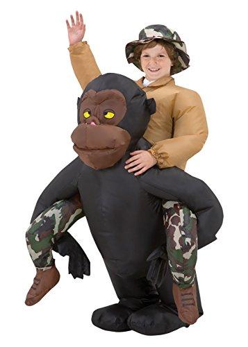 Gemmy - Riding Gorilla Kids Inflatable - 12-14 -
