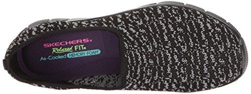 Skechers Sport Womens Empire Sweet Scene Fashion Sneaker Black/Charcoal nH3PkZy