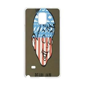Samsung Galaxy Note 4 N9100 Phone Case pearl jam band S4X4438822