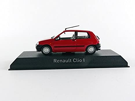 Norev - 517520 - Renault Clio - 1990 - Escala 1/43 - Rojo: Amazon.es: Juguetes y juegos